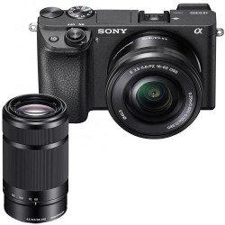 Sony Alpha 6300 + 16-50 mm f/3,5-5,6 OSS + 55-210 mm f/4.5-6.3 OSS Noir