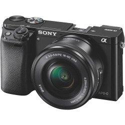 Sony Alpha 6000 + 16-50 mm f/3.5-5.6 E PZ - Kit Noir