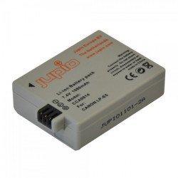 Batterie JUPIO compatible  : Canon LP-E5 | NB-E5 Capacité  : 1080 mAh Garantie 3 ans