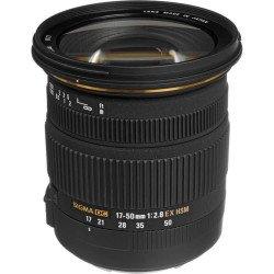 OCCASION - Sigma 17-50 mm f2.8 EX DC OS HSM - Monture Canon