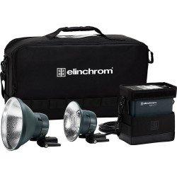 ELINCHROM kit flash autonome ELB 500 TTL DUAL TO GO