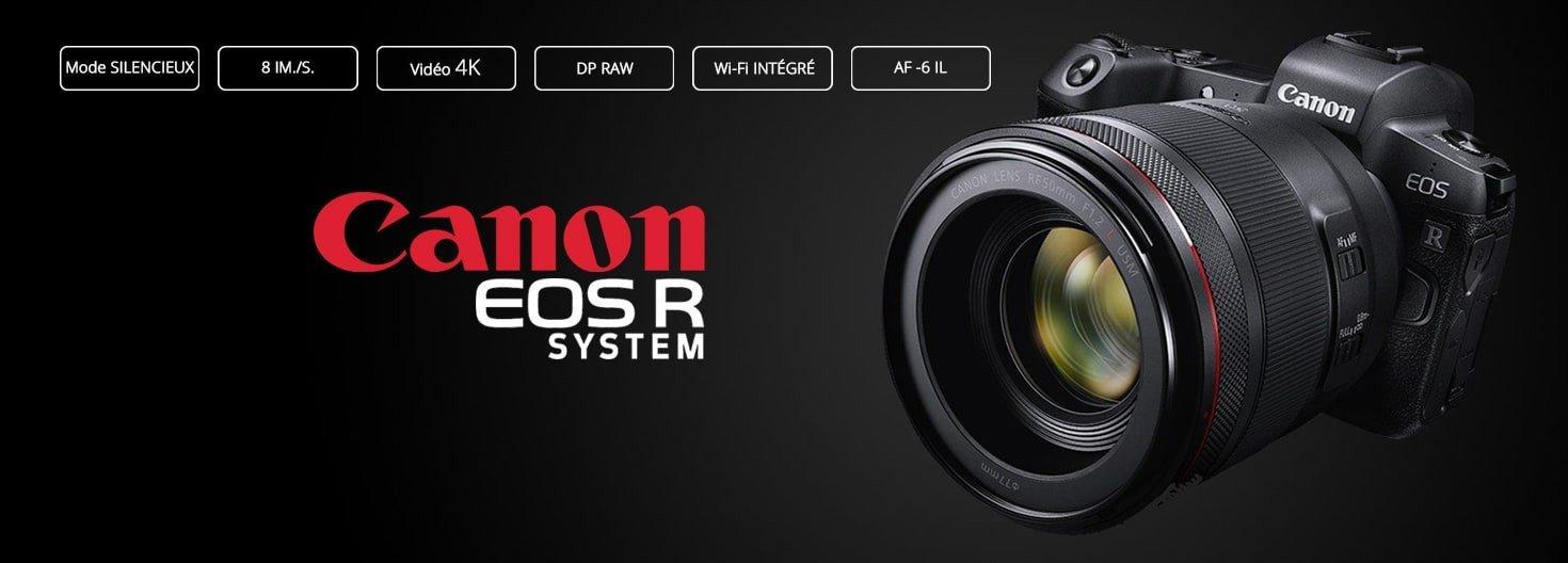 Reflex Canon EOS R System